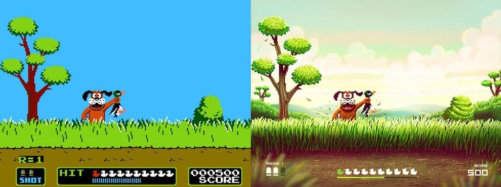 duck hunt - Des jeux vidéo cultes revisités...