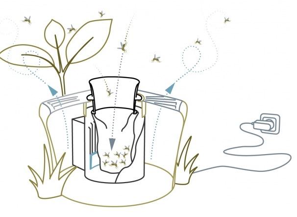 piege moustique - Un piège à moustiques efficace et respectueux de l'environnement...