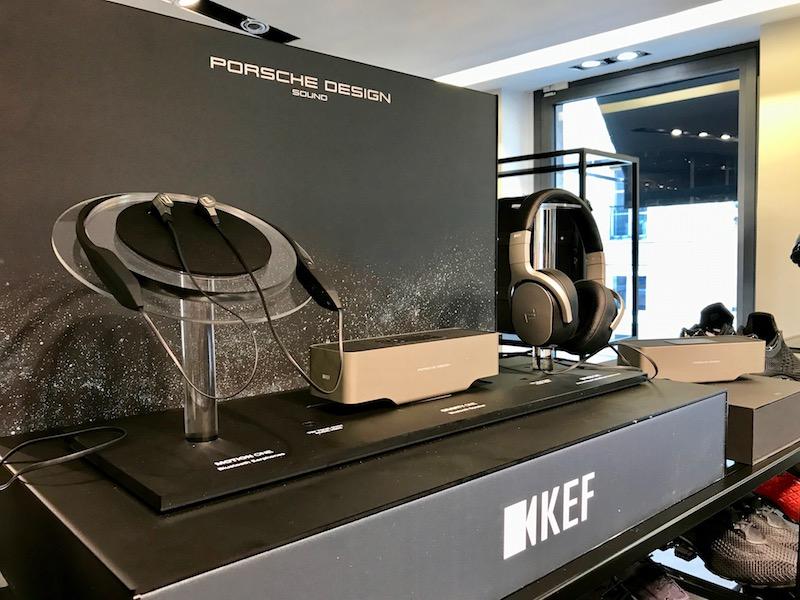 porsche design - Porsche Design lance 3 produits sound en France