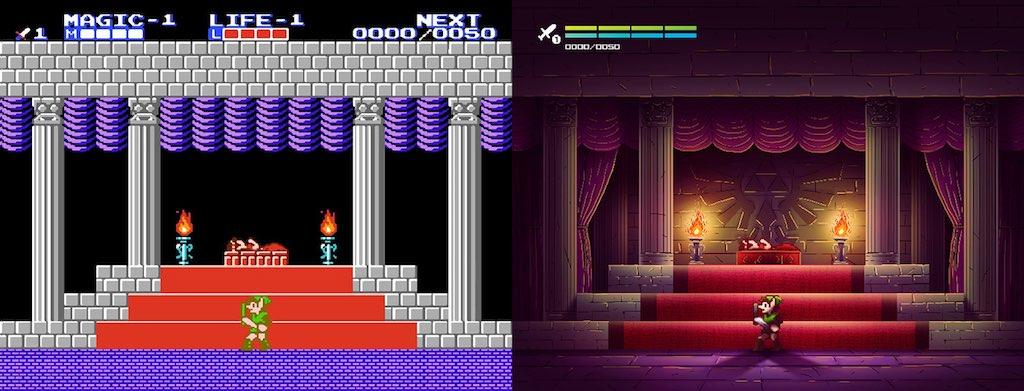 zelda 2 - Des jeux vidéo cultes revisités...