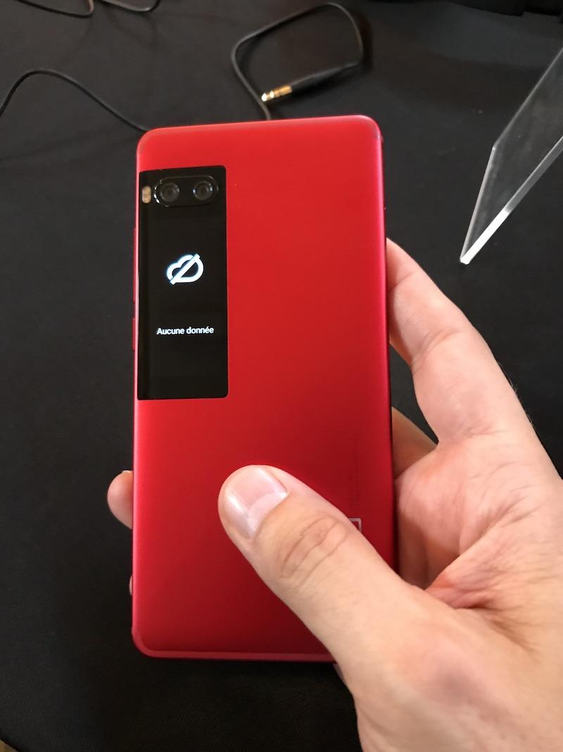 PRO7 arriere - Meizu Pro 7 et Pro 7 Plus
