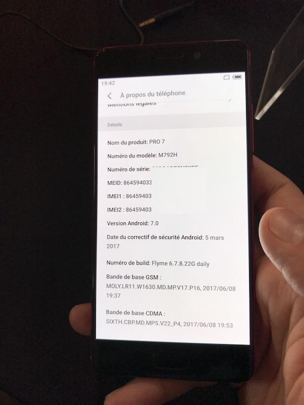 android meizu pro7 - Meizu Pro 7 et Pro 7 Plus