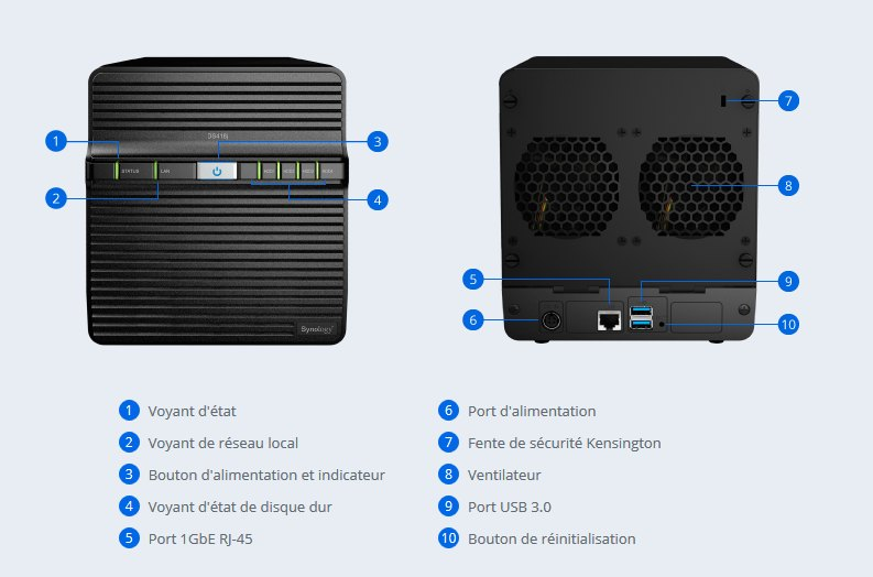 synology DS418j - NAS - Synology lance le DS418j