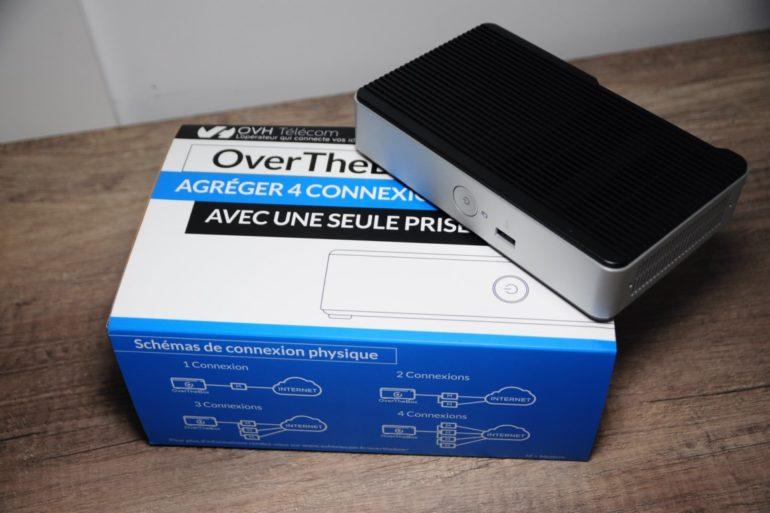 DSC 3815 770x513 - OvertheBox agréger 1 à 4 connexions Internet