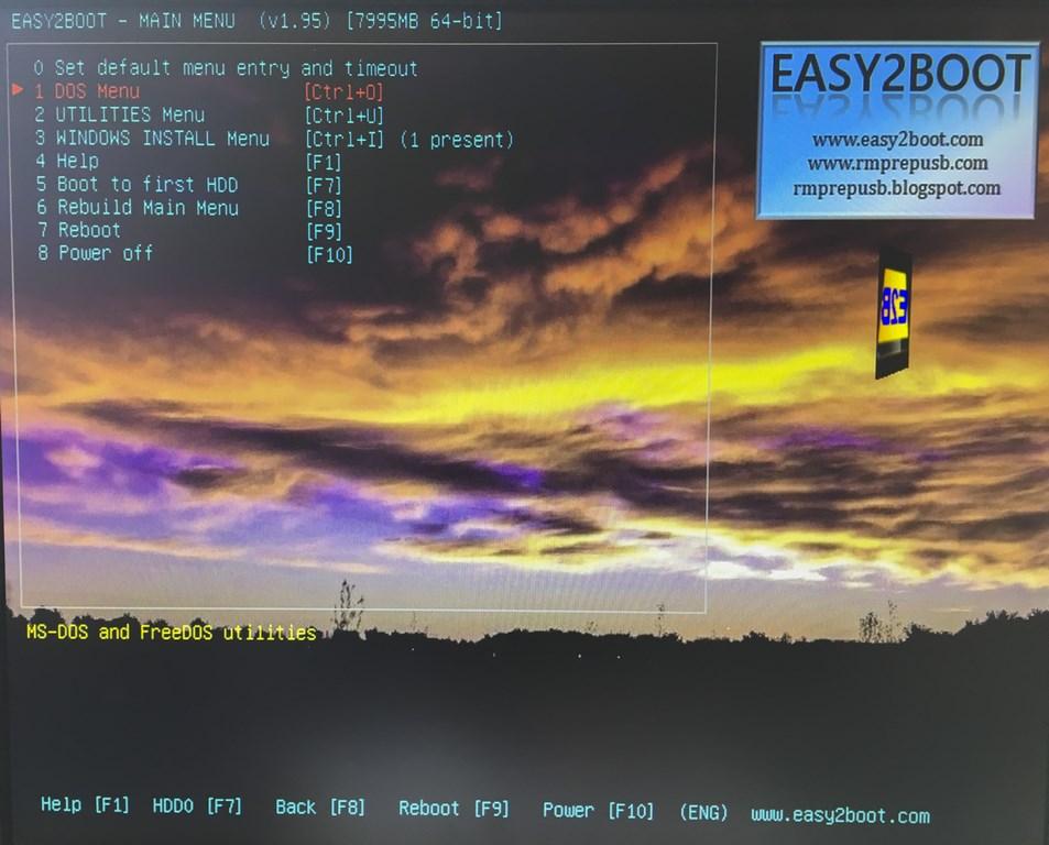 IMG 4409 - Easy2Boot: Créez votre clé USB multi ISO