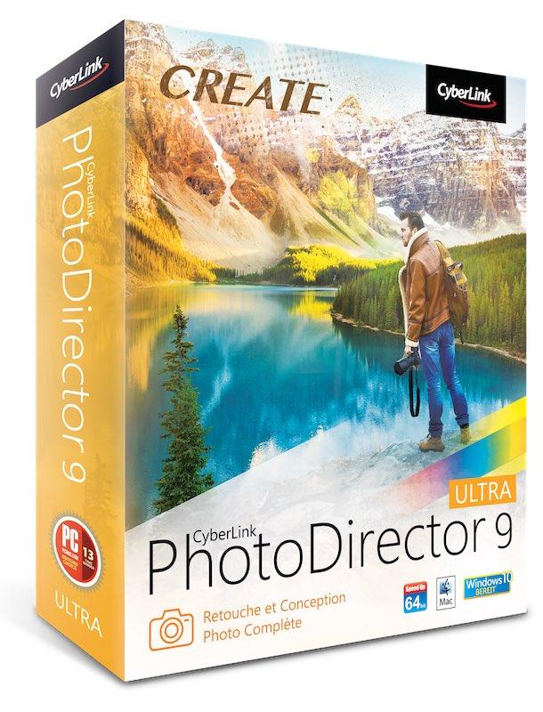 PhotoDirector 9 Ultra - PhotoDirector 9 est disponible