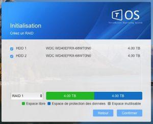 TOS 3 Installation 9 300x243 - NAS - Test du TerraMaster F2-220