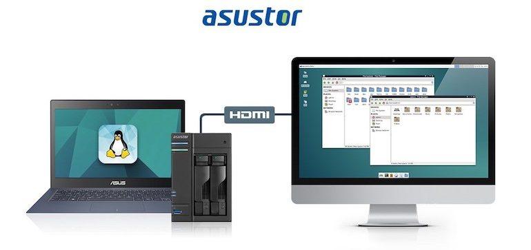 linux center 770x363 - NAS - Asustor annonce l'arrivée de Linux Center