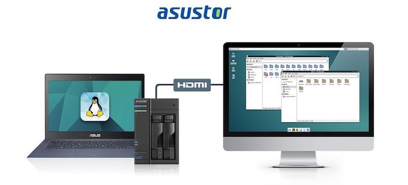 linux center - NAS - Asustor annonce l'arrivée de Linux Center