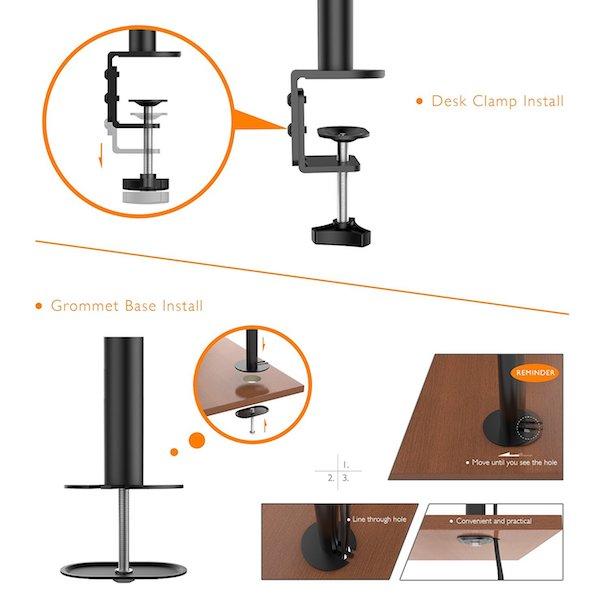 montage 1home - Support 2 écrans : Design et Commodité