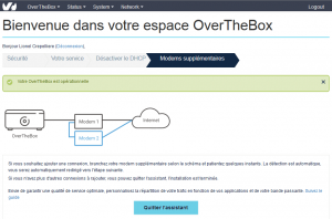 overthebox8 300x198 - OvertheBox agréger 1 à 4 connexions Internet