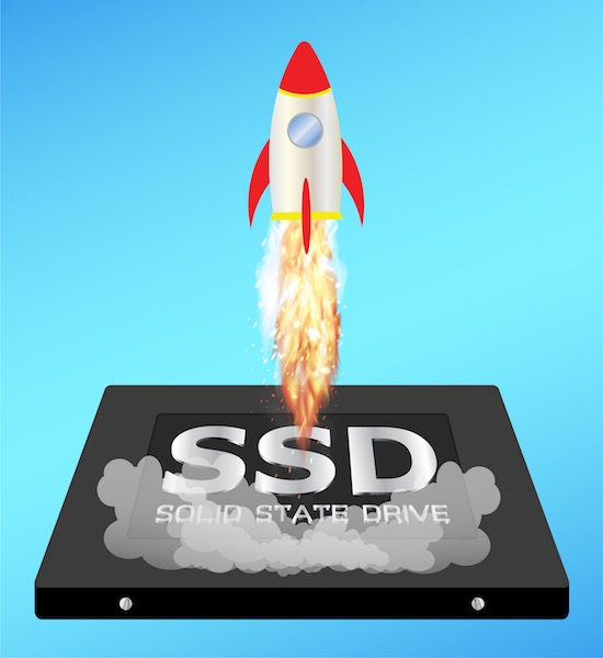 speed ssd - Test du Crucial MX500