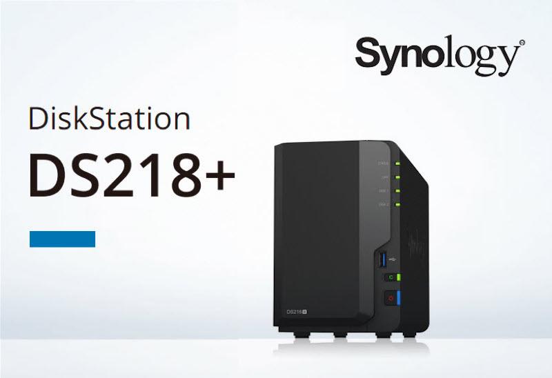 synology DS218 - NAS - Synology DS218+ et DS718+ fuitent sur Internet