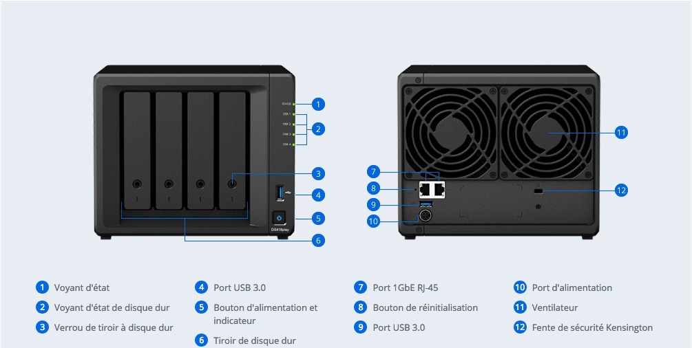 synology ds418play - NAS - Synology lance le DS418play : processeur J3355 2,0 GHz, 2Go de RAM et..