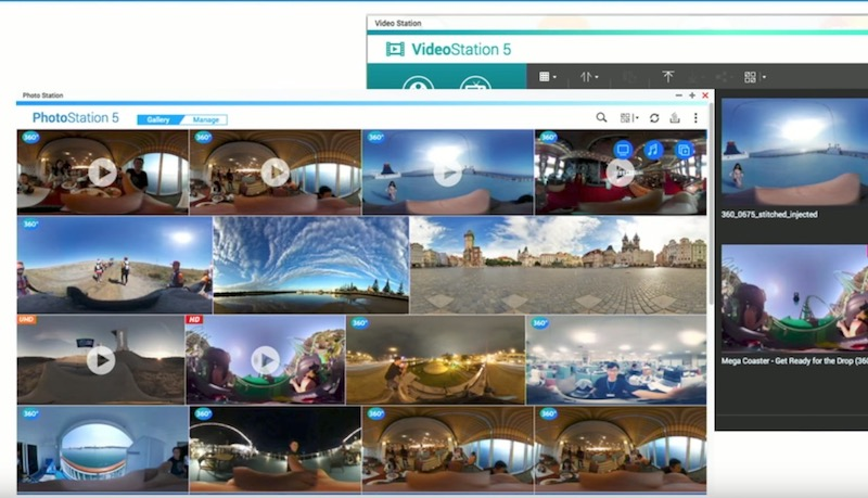 videostation photostation 360 - QNAP Expo 2017 : Nouveautés dans QTS 4.3.4 et encore plus de NAS...