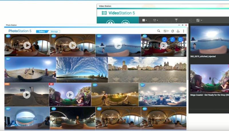 videostation photostation 360 - NAS - QNAP QTS 4.3.4 Bêta