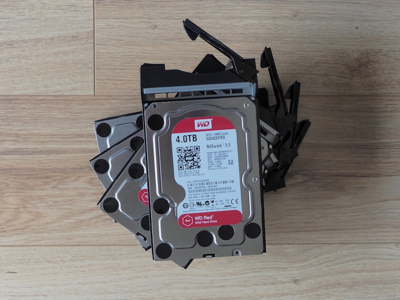 wd red as6404T - Test du NAS Asustor AS6404T