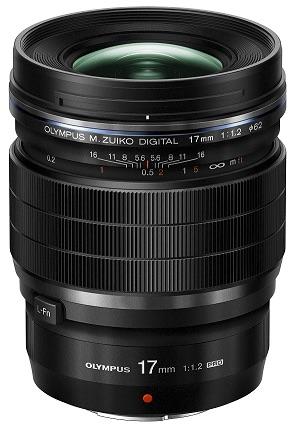 17mm - Olympus lance 2 objectifs à focale fixe M.Zuiko F1.2 PRO 17 mm et  45mm