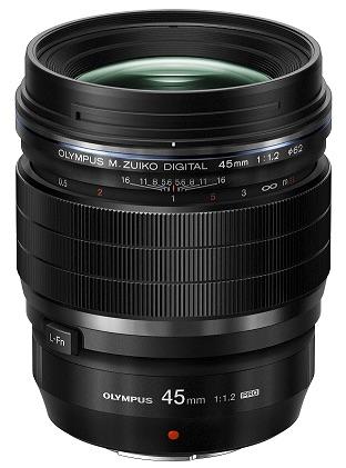 45mm - Olympus lance 2 objectifs à focale fixe M.Zuiko F1.2 PRO 17 mm et  45mm