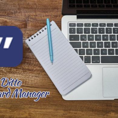 DittoCM 390x390 - Ditto Clipboard Manager booste votre presse-papier