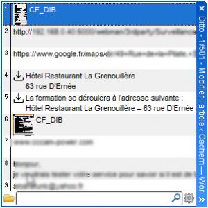 Ditto menu contextuel 300x300 - Ditto Clipboard Manager booste votre presse-papier