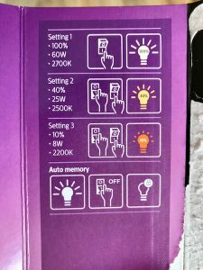 Philips SceneSwitch boite arriere 225x300 - Philips Ampoule LED 3 ambiances