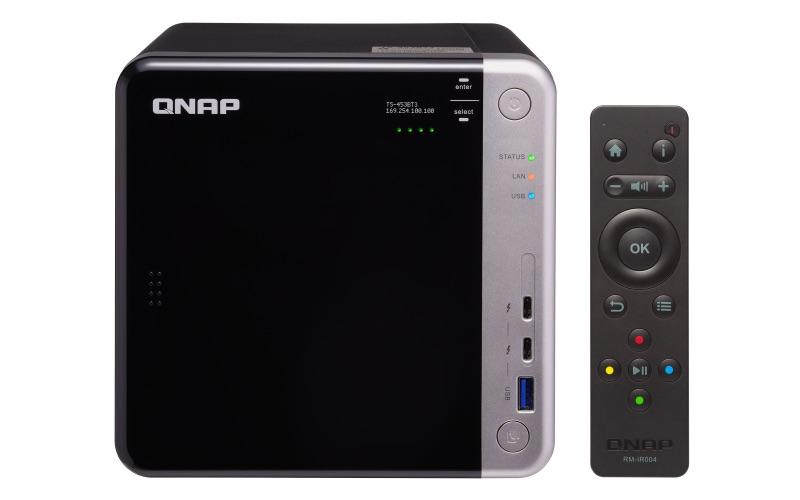 QNAP TS 453BT3 - QNAP Expo 2017 : Nouveautés dans QTS 4.3.4 et encore plus de NAS...