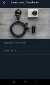 Xiaomi Yi Car appli info 176x300 - Test de la caméra Yi Dashcam