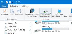 connexion1 300x144 - Ajouter son NAS comme lecteur réseau sur Windows