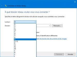 connexion6 300x222 - Ajouter son NAS comme lecteur réseau sur Windows