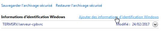 connexion w7 10 - Ajouter son NAS comme lecteur réseau sur Windows