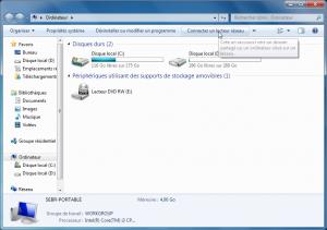 connexion w7 2 300x211 - Ajouter son NAS comme lecteur réseau sur Windows