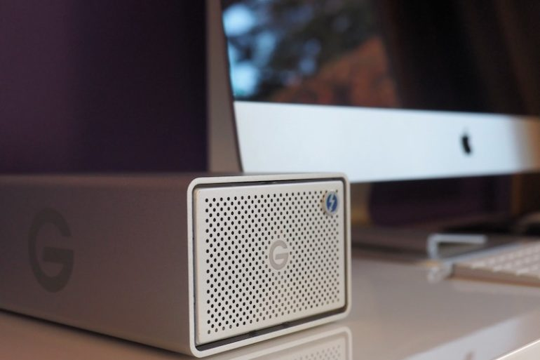 graid mac 770x513 - Test du G-RAID with Thunderbolt 3 : 500 Mo/sec ?