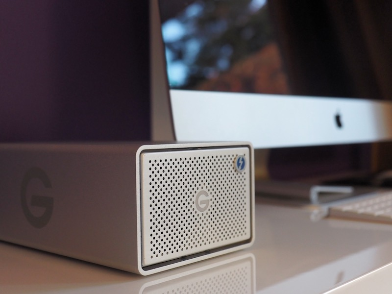 graid mac - Test du G-RAID with Thunderbolt 3 : 500 Mo/sec ?