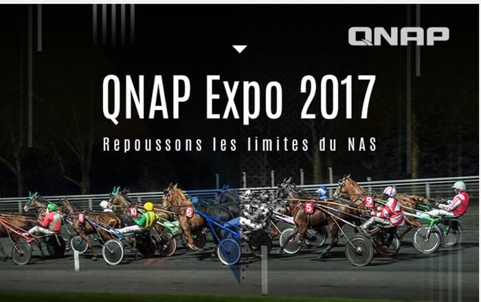 qnap expo 2017 - QNAP Expo 2017 : Nouveautés dans QTS 4.3.4 et encore plus de NAS...