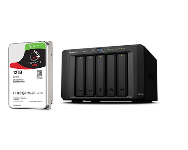 synology 12 - 3 disques durs Seagate 12To : IronWolf, IronWolf Pro et BarraCuda Pro