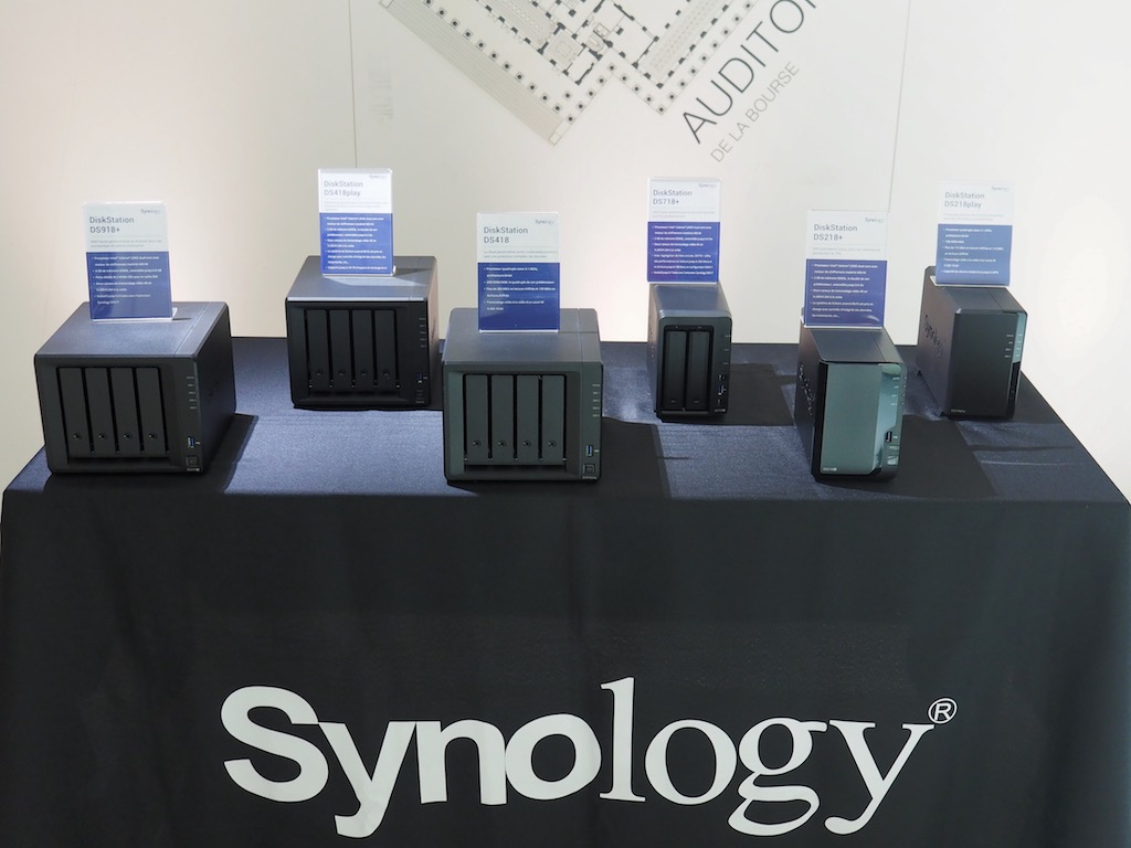 synology nas 18 - Synology 2018 : DS218play, Mesh Router, DSM 6.2, Drive, Moments...