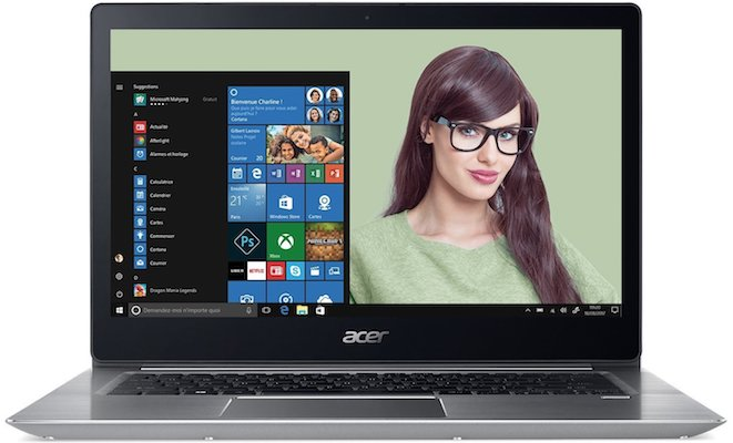 Acer Swift 3 - Cyber Monday 2017... Attention au porte-monnaie