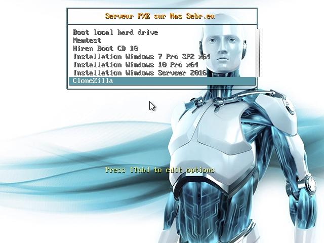 Clonezilla save1 - CloneZilla : Cloner votre PC sur un NAS en 9 étapes