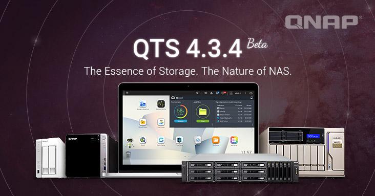 QTS 4.3.4 Beta - NAS - QNAP QTS 4.3.4 Bêta