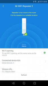 Xiaomi Wifi Repeteur Appli6 169x300 - Découverte du Xiaomi Mi WiFi Repeater 2