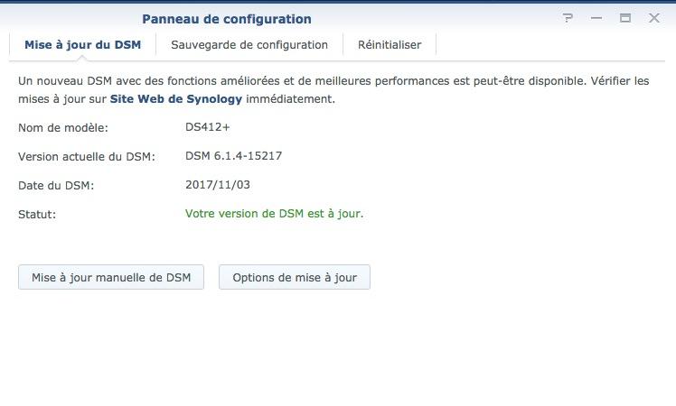 dsm 614 15217 - NAS - Synology DSM 6.1.4... en attendant la version 6.2