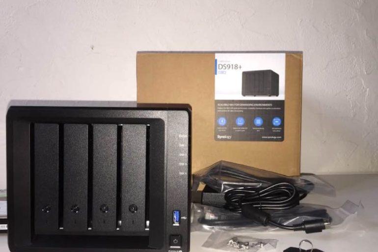 unbox ds918 770x513 - NAS - Test du Synology DS918+ par un lecteur...