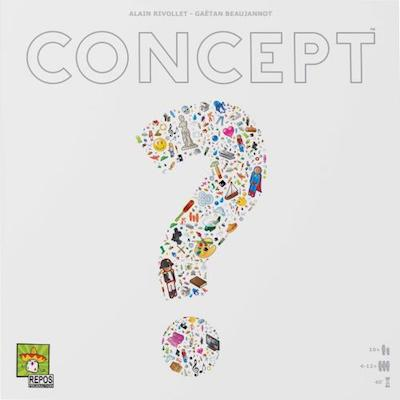 Jeu de societe Concept - Cadeaux de dernières minutes... (tous les budgets)