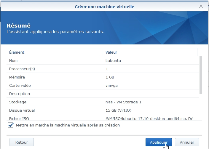 VMM Linux11 - Synology : Virtual Machine Manager - Installation de Linux [TUTO]