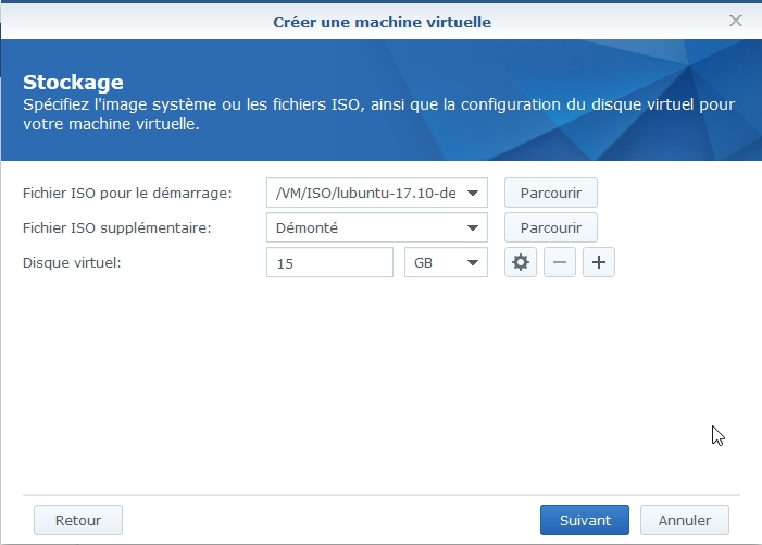 VMM Linux7 - Synology : Virtual Machine Manager - Installation de Linux [TUTO]