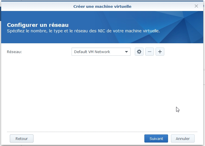 VMM Linux8 - Synology : Virtual Machine Manager - Installation de Linux [TUTO]
