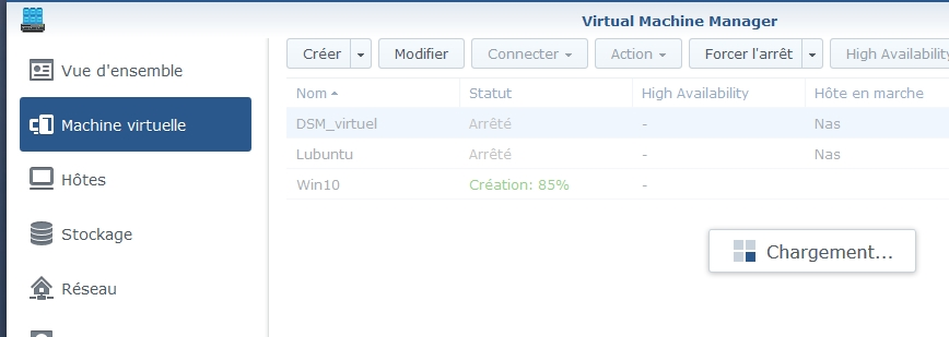 VMM Win10 14 - Synology : Virtual Machine Manager – Installation de Windows 10 [TUTO]