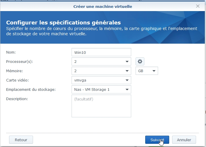 VMM Win10 4 - Synology : Virtual Machine Manager – Installation de Windows 10 [TUTO]