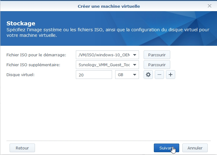 VMM Win10 9 - Synology : Virtual Machine Manager – Installation de Windows 10 [TUTO]